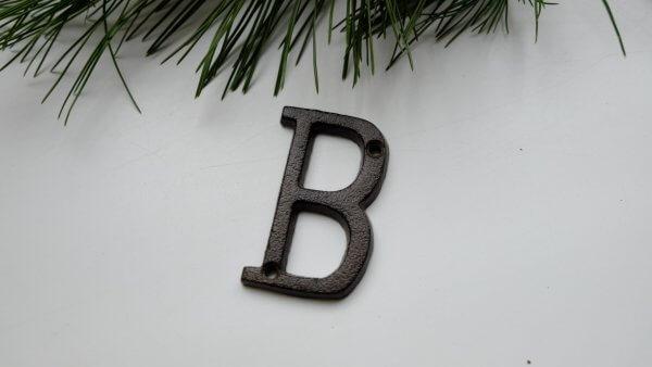 Písmeno B