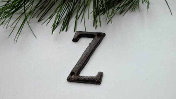 Písmeno Z