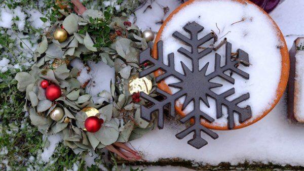 Vločka ve vánoční náladě